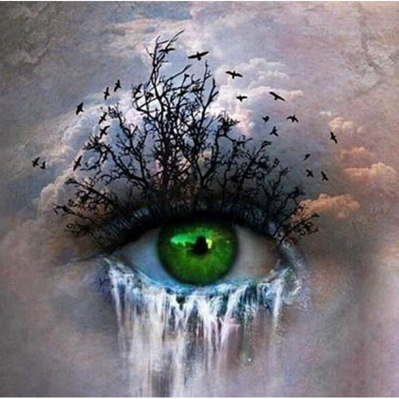 Abstract Eye - Paint...
