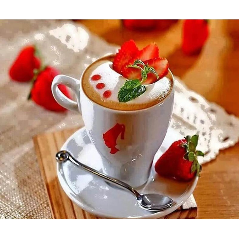 Coffee Cup & Strawbe...