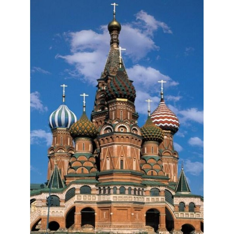 Cathedral in Moscow,...